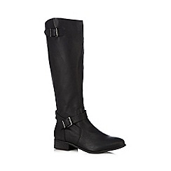 The Collection - Black high leg riding boots