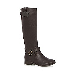 The Collection - Brown high leg riding boots