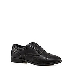 The Collection - Black lace up brogues
