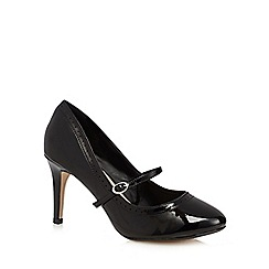 The Collection - Black patent high court shoes