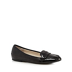The Collection - Black patent loafers