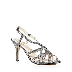 Debut - Metallic high heel sandals