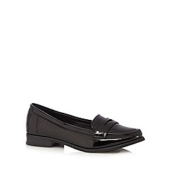 Red Herring - Black patent loafers