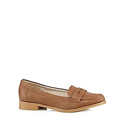 Red Herring - Light tan loafers