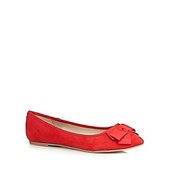 Red Herring - Red bow flat shoes