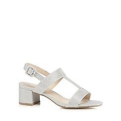Red Herring - Silver T-bar sandals