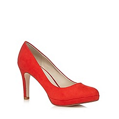 Red Herring - Red textured high court shoes
