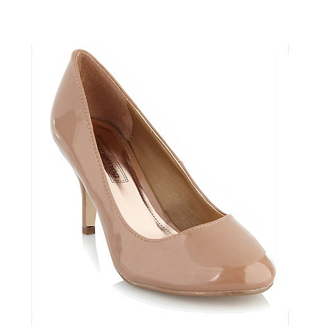 Red Herring - Beige round toe court shoes