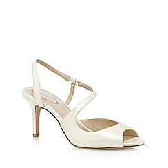 Debut - Ivory strap mid sandals