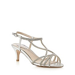 Debut - Silver 'Donna' sandals