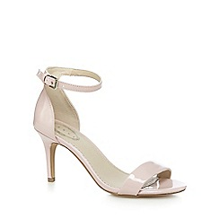 Debut - Pink patent high sandals