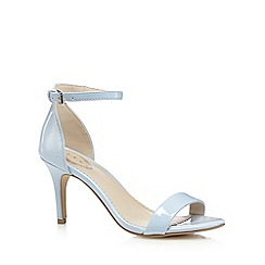 Debut - Pale blue patent high sandals
