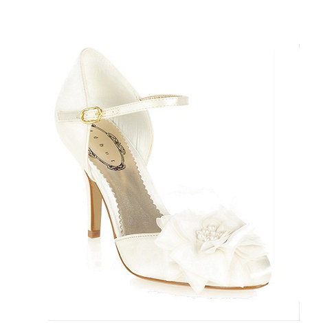 Debut - Ivory +davina+ pearl corsage shoes