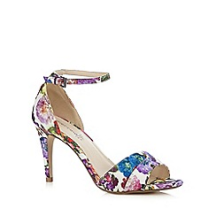 Red Herring - Multicoloured floral print high sandals