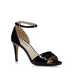 Red Herring - Black patent high sandals