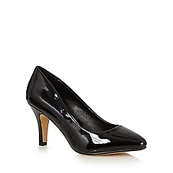 The Collection - Black high court shoes