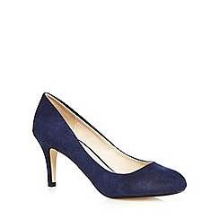 The Collection - Navy mid court heels