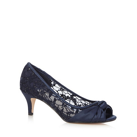 Navy Peep Toe Shoes Debenhams