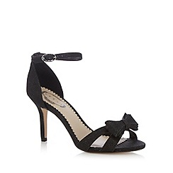Debut - Black open toe heels