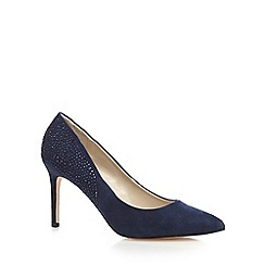 Debut - Navy studded high court shoes
