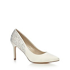 Debut - Ivory studded high court shoes