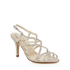 Debut - Silver diamante sandals