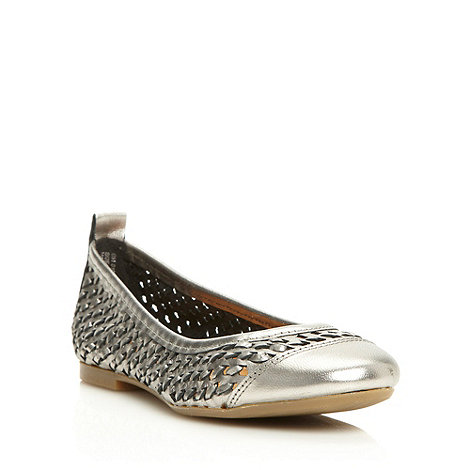 Betty Jackson.Black - Designer metallic weave pumps