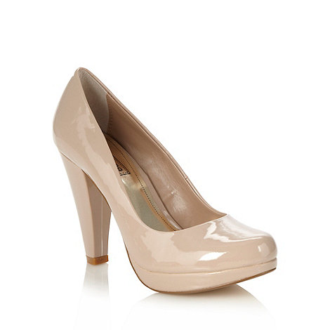 Red Herring - Natural patent high court shoes