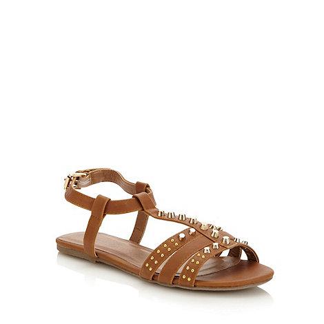 Red Herring - Tan +farley+ stud sandals