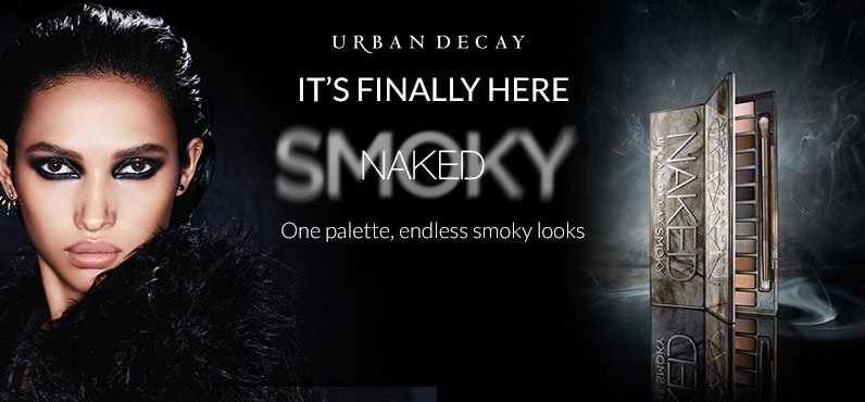 Urban Decay Naked Smoky Palette Countdown