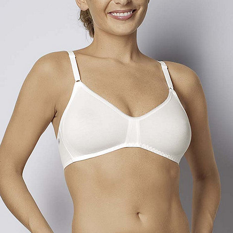 Sloggi - White smooth cup non-wired bra