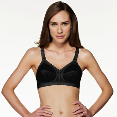 Black Doreen non wired bra