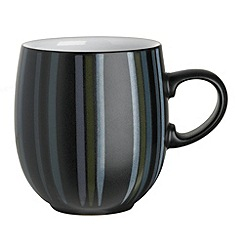Denby - Black and grey glazed 'Jet' mug