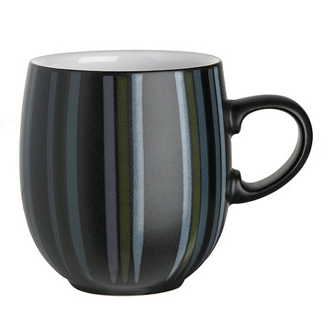 Denby - +Jet+ striped mug