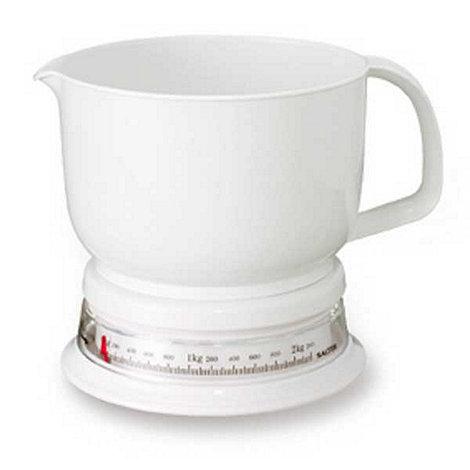 Salter - Plastic add & weigh kitchen jug scale
