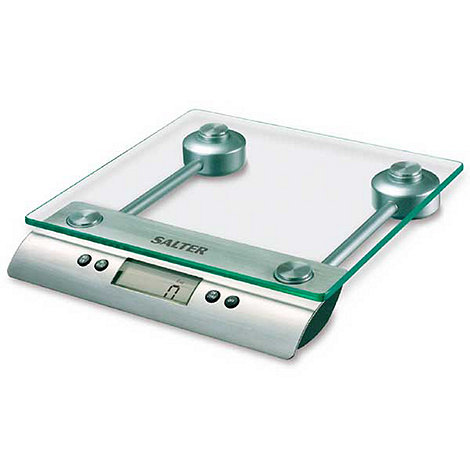 Salter - Aquatronic kitchen scale with glass platform
