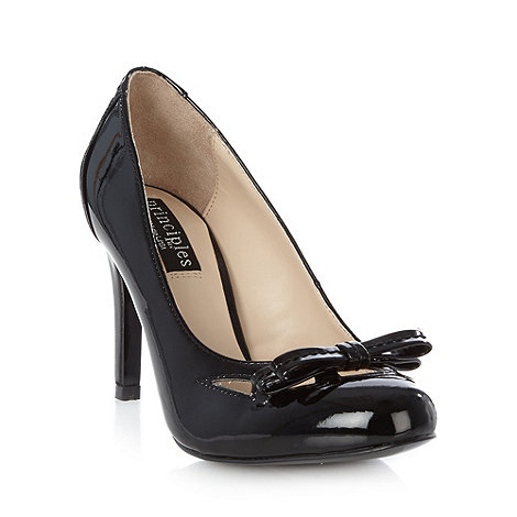 Principles by Ben de Lisi - Designer black cutout high court shoes