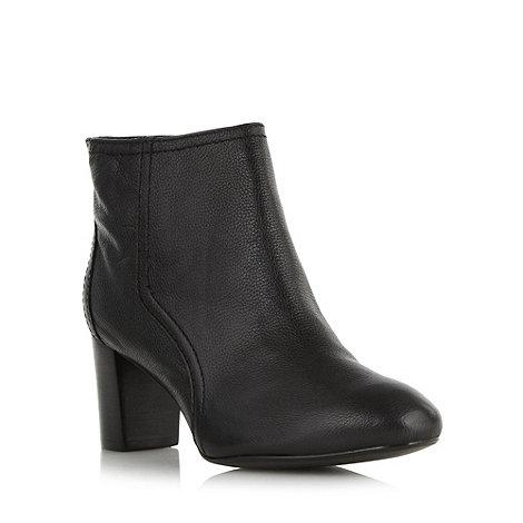 Principles by Ben de Lisi - Designer black leather mid heel ankle boots