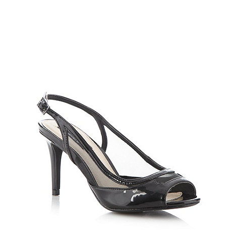 Principles by Ben de Lisi - Designer black slingback high court shoes