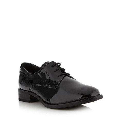 Betty Jackson.Black - Designer black patent leather brogues