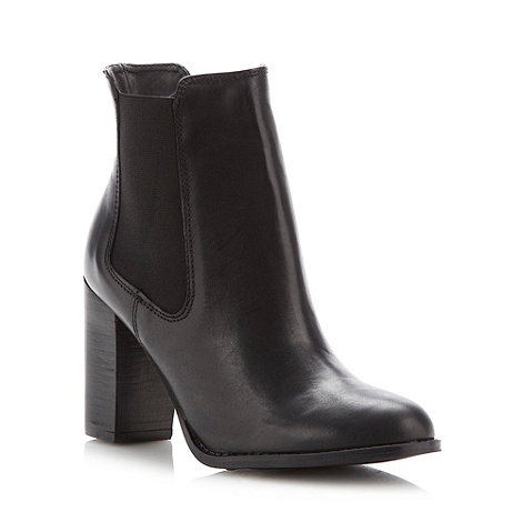Betty Jackson.Black - Designer black chelsea high ankle boots