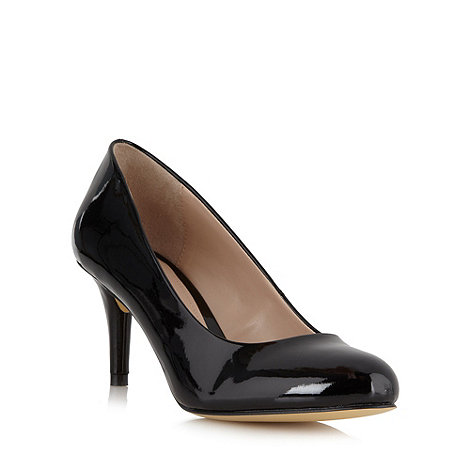 J by Jasper Conran - Designer black mid heeled court shoes