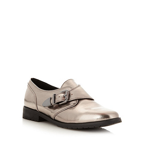 H! by Henry Holland - Designer silver buckle shoes