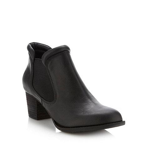 RJR.John Rocha - Designer black mid chelsea boots