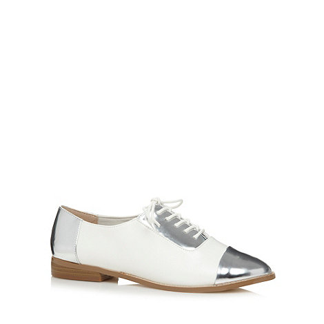 H! by Henry Holland - Designer white contrast jazz shoes