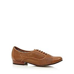 RJR.John Rocha - Designer tan punched design shoes