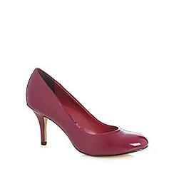 Principles by Ben de Lisi - Designer dark pink patent high court shoes