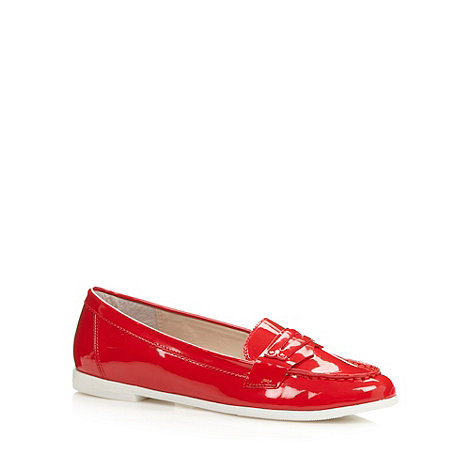 Principles by Ben de Lisi - Designer red patent loafers