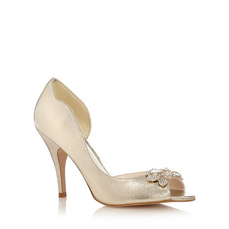 gold high heels debenhams gold sandals heels