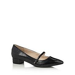 Principles by Ben de Lisi - Black low heel pointed toe shoes